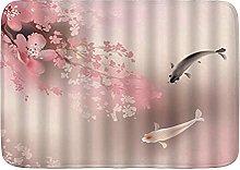 Tappetini da bagno per il bagno, Sakura Branch