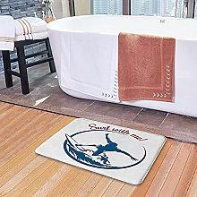 Tappetini da bagno per il bagno, Surf with Me
