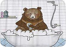 Tappetini da bagno Tappeto per bagno, albero
