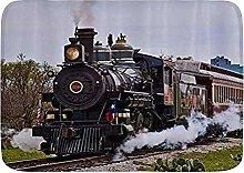 Tappetini da bagno, vecchio treno, tappetini da