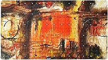 Tappetino da bagno antiscivolo, 40 x 71 cm, in PVC