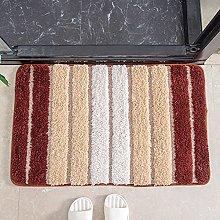 Tappetino da bagno antiscivolo, 50 x 80 cm,