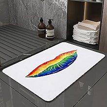 Tappetino da bagno antiscivolo 50X80 cm, tappetino