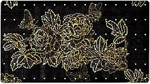Tappetino da bagno antiscivolo l 40 x 71 cm per