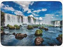 Tappetino da Bagno Argentina, Illustrazione