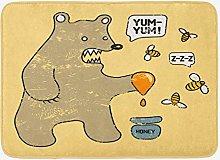 Tappetino da bagno cartone animato, caricatura