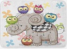 Tappetino da bagno cartone animato, elefante e