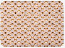 Tappetino da bagno cartone animato, immagine con