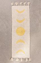 Tappetino da bagno in cotone (130x40 cm) Nocti