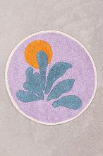 Tappetino da bagno in cotone (Ø61 cm) Kombu A