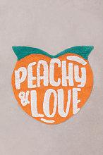 Tappetino da bagno in cotone Yuicy Peach Sklum