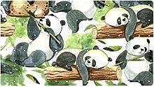 Tappetino da bagno per bambini con doccia Panda