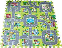 Tappetino da gioco per il traffico Puzzle