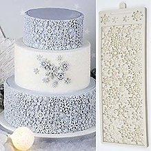 Tappetino in silicone 3D con fiocco di neve pieno
