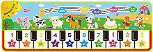 Tappetino musicale per tastiera Tappetino da gioco