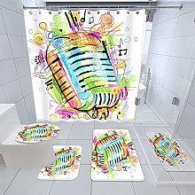 Tappetino per WC in PVC, antiscivolo, con ventosa,