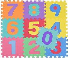 Tappetino Tappeto Puzzle Maxi Numeri Colorati