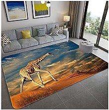 Tappeto Antiscivolo Ampia Area Tappeti Giraffa in