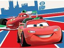 Tappeto cameretta bimbi da gioco Cars Saetta Mc