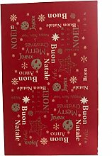 TAPPETO CUCINA NATALE VALLESUSA WISH ROSSO 50x80