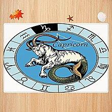 Tappeto da bagno antiscivolo 40X60cm,Astrologia,