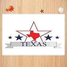 Tappeto da bagno antiscivolo 40X60cm,Texas Star,
