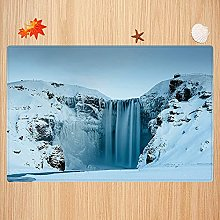 Tappeto da bagno antiscivolo 40X60cm,Waterfall,