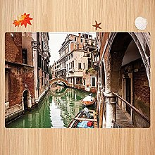 Tappeto da bagno antiscivolo 50X80 cm,Venezia,