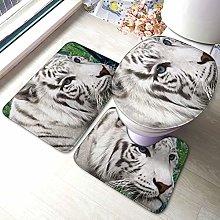 Tappeto da bagno antiscivolo con stampa tigre