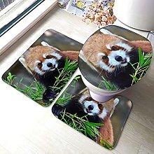 Tappeto da bagno antiscivolo, motivo panda