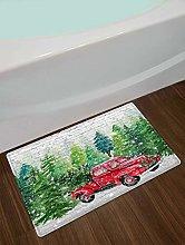 Tappeto da bagno in legno di cedro, legno di pino