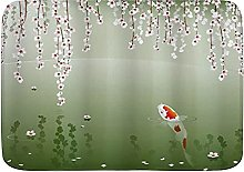 Tappeto da bagno Tappetino da bagno, Koi Fish
