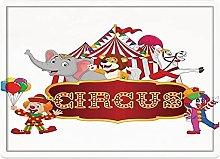 Tappeto da bagno50x80cm, Arredamento da circo,