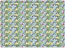 Tappeto da bagno50x80cm, Cactus, composizione