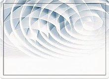 Tappeto da bagno50x80cm, Decorazioni geometriche,