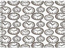 Tappeto da bagno50x80cm, Decorazioni per orologio,