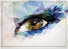 Tappeto da bagno50x80cm, Eye, Womans Eye with