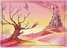 Tappeto da bagno50x80cm, Fantasy, Princess Castle