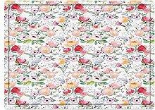 Tappeto da bagno50x80cm, Fiore, fiori primaverili