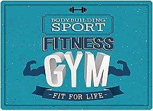 Tappeto da bagno50x80cm, Fitness, Fit For Life