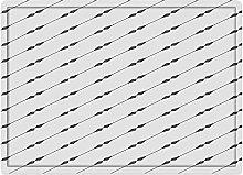 Tappeto da bagno50x80cm, Geometriche, linee