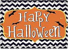 Tappeto da bagno50x80cm, Halloween, simpatico