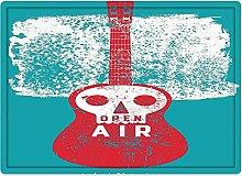 Tappeto da bagno50x80cm, Indie, Open Air Festival