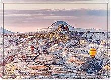 Tappeto da bagno50x80cm, Inverno, Cappadocia