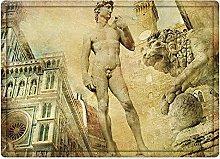 Tappeto da bagno50x80cm, Italia, Antica Firenze