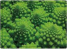 Tappeto da bagno50x80cm, Natura, Broccoli Kale