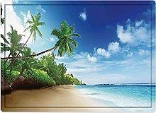 Tappeto da bagno50x80cm, Ocean Decor, Beach Sunset