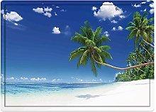 Tappeto da bagno50x80cm, Ocean Decor, Coastline