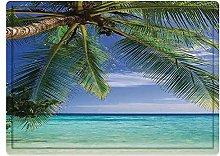 Tappeto da bagno50x80cm, Ocean Decor, paradiso
