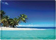 Tappeto da bagno50x80cm, Ocean Decor, Seaside View